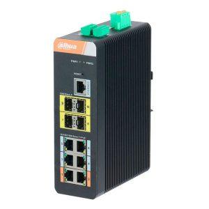 10-портовый управляемый коммутатор с 6 РоЕ портами DH-PFS4410-6GT-DP