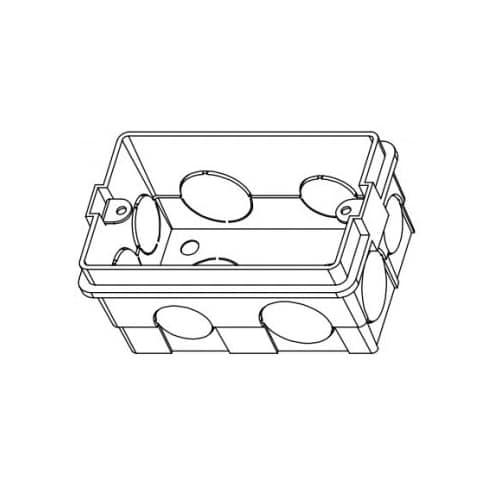 Бокс для врезного монтажа монитора DS-KAB118