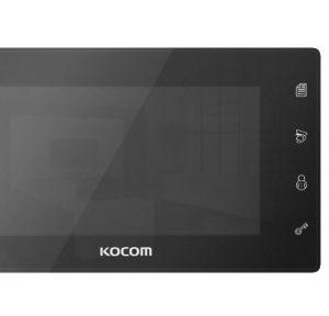 Видеодомофон + Панель вызова (KCV-504 Mirror + AVP-05) Черный