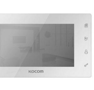 Видеодомофон + Панель вызова (KCV-504 Mirror + AVP-05) Белый