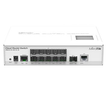 10-портовый управляемый Cloud коммутатор CRS212-1G-10S-1S+IN