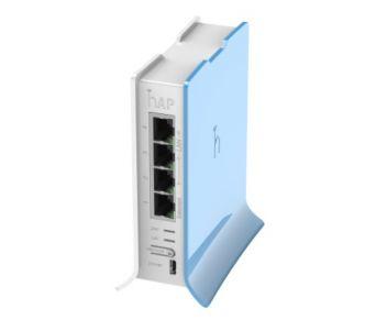 2.4GHz Wi-Fi точка доступа с 4-портами Ethernet для домашнего использования hAP liteTC (RB941-2nD-TC)