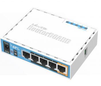 2.4GHz Wi-Fi точка доступа с 5-портами Ethernet для домашнего использования hAP (RB951Ui-2nD)