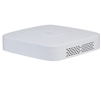 4-канальный Smart 4K сетевой видеорегистратор DHI-NVR4104-4KS2/L