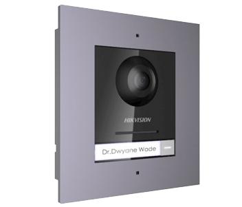 Комплект модуля вызывной IP панели + врезная рамка DS-KD8003-IME1/Flush