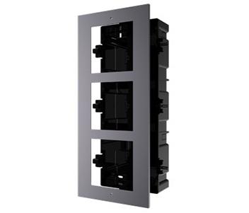 Врезная монтажная рамка на 3 модуля DS-KD-ACF3/Plastic
