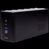 004.  ИБП LogicPower U650VA, USB-порт, 2 евророзетки, 5 ступ. AVR, 7.5Ач12В, металлический корпус, Черный цвет(390Вт)