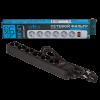Фильтр-удлинитель сетевой LogicPower LP-X6, 6 розеток, цвет-черный, 1,8 m