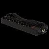 Фильтр-удлинитель сетевой LogicPower LP-X6, 6 розеток, цвет-черный, 10 m (OEM)