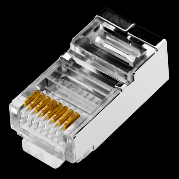 Коннектор Logicpower RJ45 FTP-8P8С (1уп -100шт)