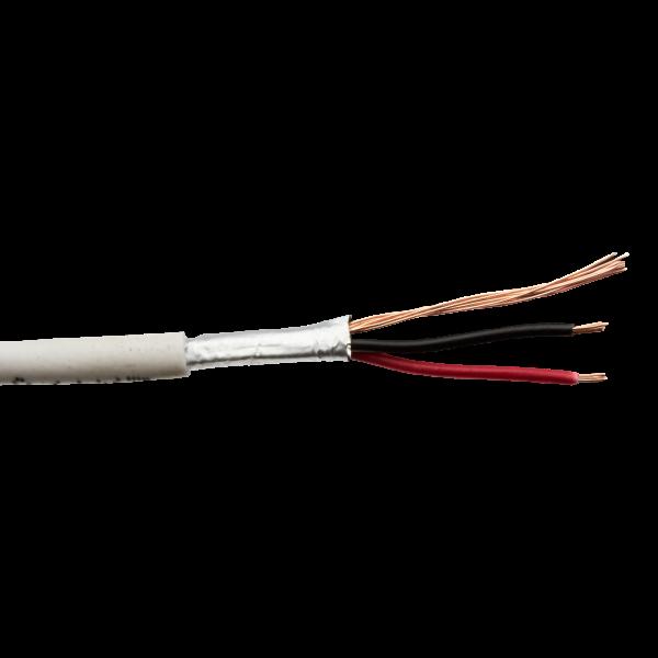 Сигнальный кабель Logicpower КСВПЭ CU 2×7/0.22 + 7/0.22 экранированный бухта 100м