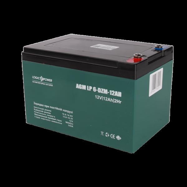 Тяговый свинцово-кислотный аккумулятор LP 6-DZM-12 — под Болт М5