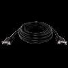 Кабель LogicPower VGA -10.0BK, 10.0м черный, с двумя ферритовыми кольцами