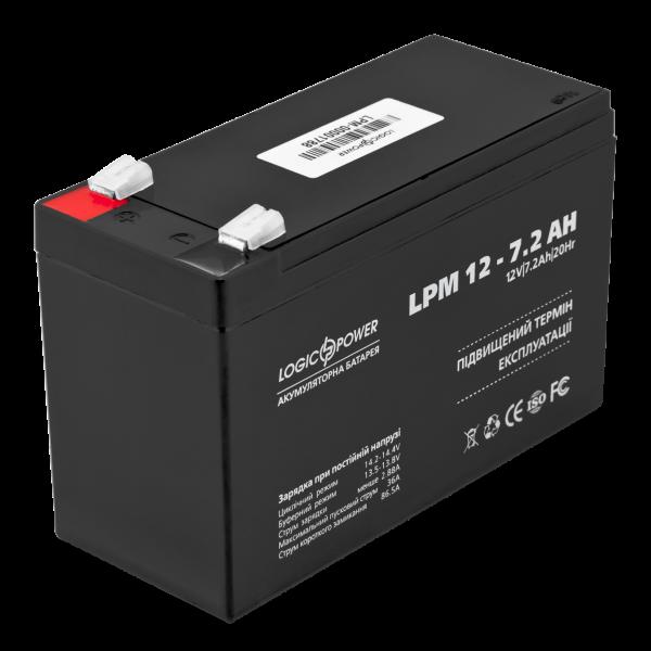 Аккумулятор AGM LPM 12 — 7,2 AH