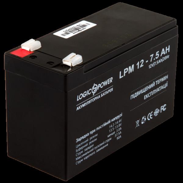 Аккумулятор AGM LPM 12 — 7,5 AH