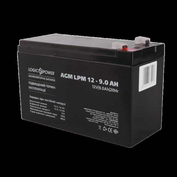 Аккумулятор AGM LPM 12 — 9.0 AH