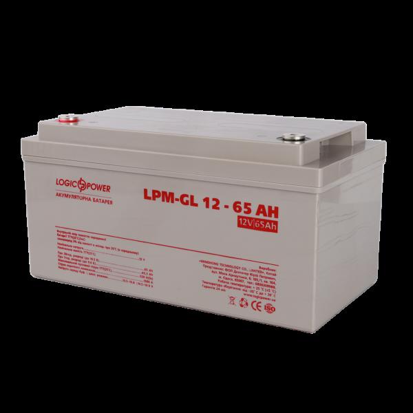 Аккумулятор гелевый  LPM-GL 12 — 65 AH