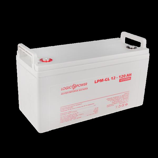 Аккумулятор гелевый  LPM-GL 12 — 120 AH