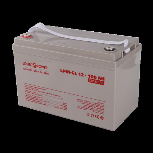 Аккумулятор гелевый  LPM-GL 12 — 100 AH