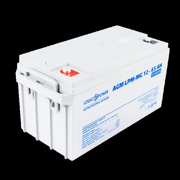 Аккумулятор мультигелевый AGM LPM-MG 12 — 65 AH