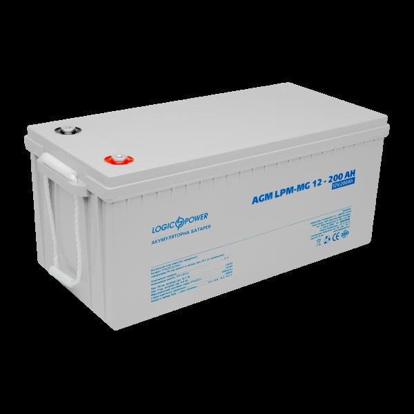 Аккумулятор мультигелевый AGM LPM-MG 12 — 200 AH
