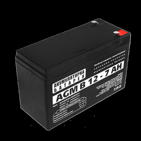 Аккумуляторная батарея  AGM В 12 — 7 AH