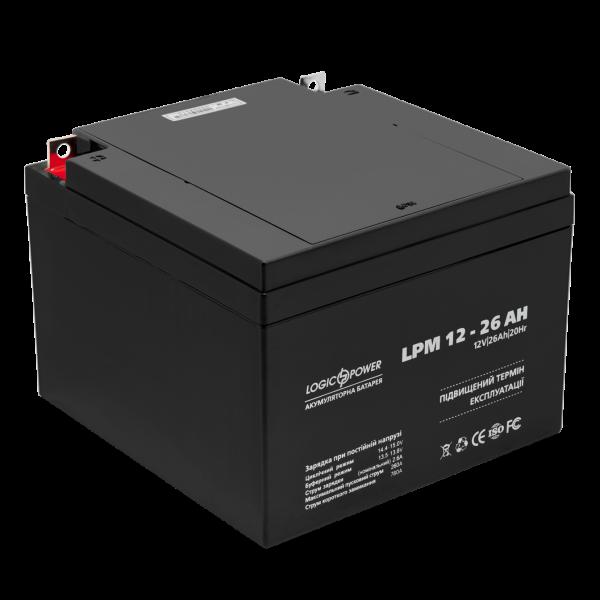 Аккумулятор AGM LPM 12 — 26 AH