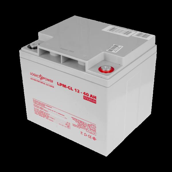 Аккумулятор гелевый  LPM-GL 12 — 40 AH