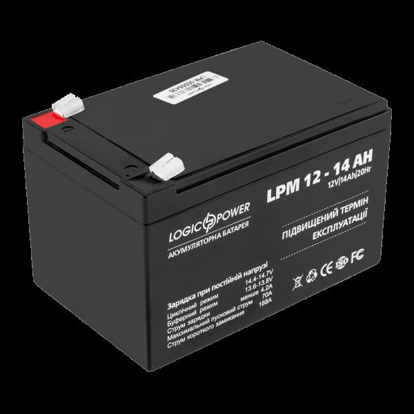 Аккумулятор AGM LPM 12 — 14 AH