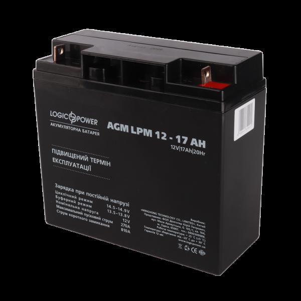 Аккумулятор AGM LPM 12 — 17 AH