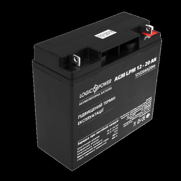 Аккумулятор AGM LPM 12 — 20 AH