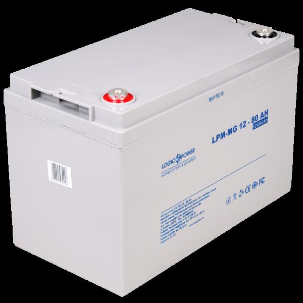 Аккумулятор мультигелевый AGM LPM-MG 12 — 80 AH