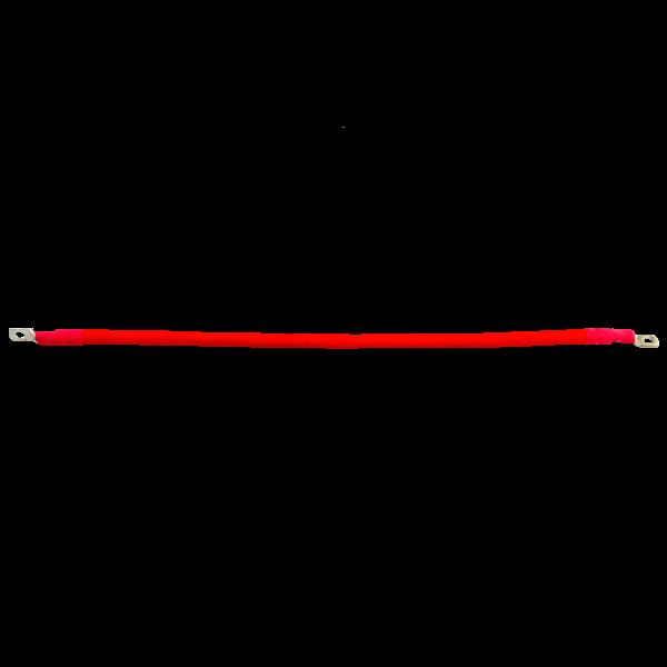 Провод МЕДНЫЙ 22мм2  50см, для соединения аккумуляторных батарей, с клеммами
