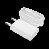 Зарядное устройство LP АС-005 USB 5V 1A + кабель USB — Lighting (Белый) /ОЕМ
