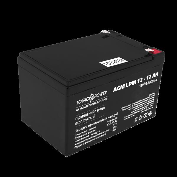 Аккумулятор AGM LPM 12 — 12 AH