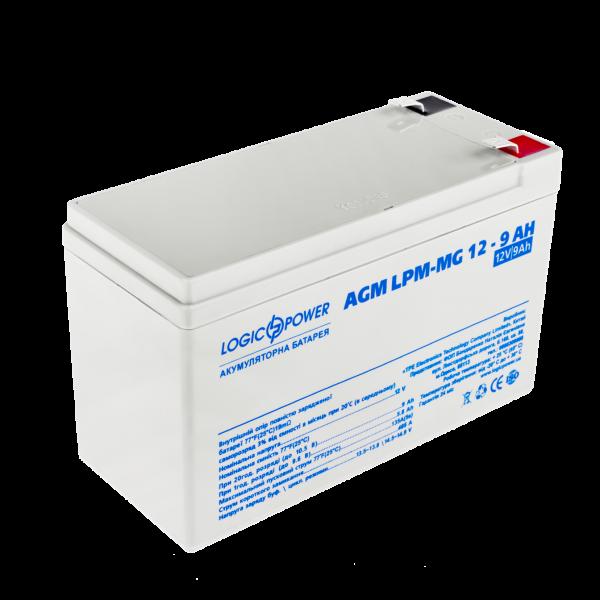 Аккумулятор мультигелевый AGM LPM-MG 12 — 9 AH