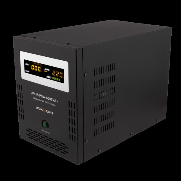 ИБП Logicpower LPY-B-PSW-6000VA+(4200Вт)10A/20A с правильной синусоидой 48В