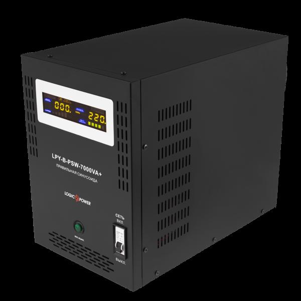 ИБП Logicpower LPY-B-PSW-7000VA+(5000Вт)10A/20A с правильной синусоидой 48В