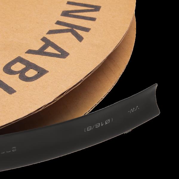Термоусадочная трубка 16 mm  (черный)