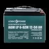Тяговый свинцево-кислотный аккумулятор LP 6-DZM-50 75697