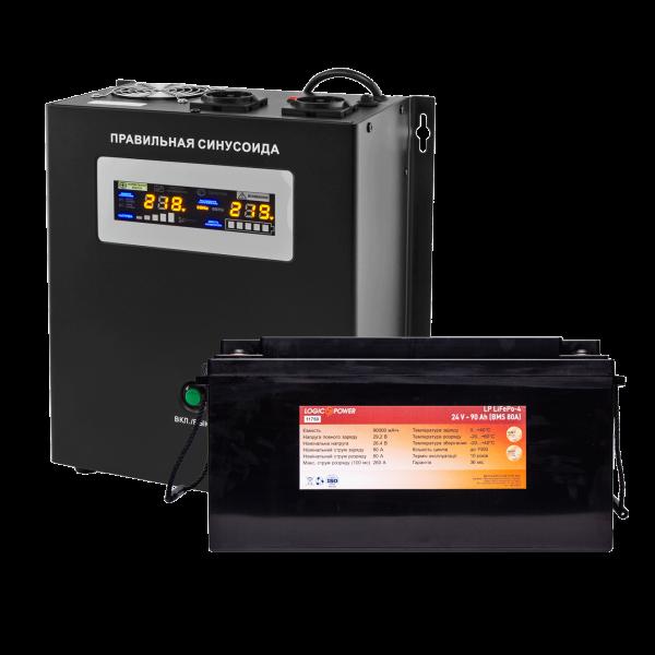 Комплект резервного питания Logicpower W2000 + литеевая (LifePo4) батарея 2600 ватт