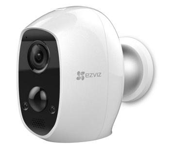 2МП Wi-Fi камера EZVIZ с встроенным аккумулятором CS-C3A(B0-1C2WPMFBR)