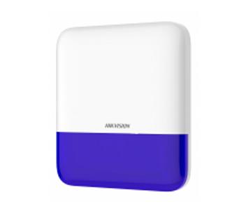 Беспроводная внешняя сирена Hikvision (Синяя) DS-PS1-E-WE