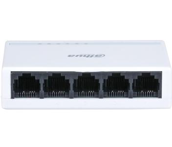 5-портовый L2 неуправляемый коммутатор DH-PFS3005-5ET-L