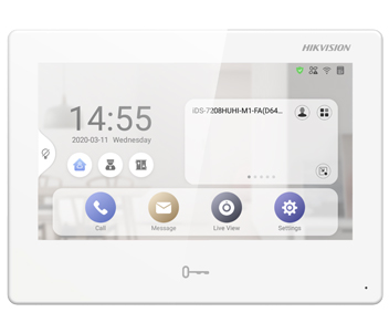 "7"" IP видеодомофон с Android DS-KH9310-WTE1"